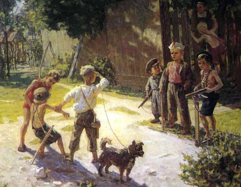 Решетников Ф.П. «Достали языка» (1943)